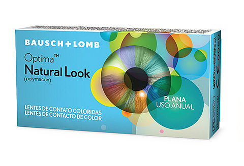Lentes De Contato Bausch & Lomb Optima Natural Look